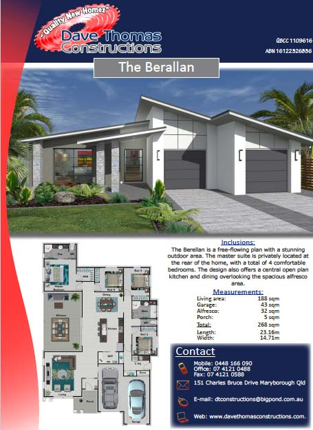 The Berallan 261sqm