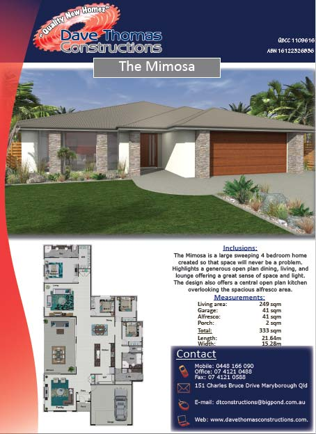The Mimosa 333sqm