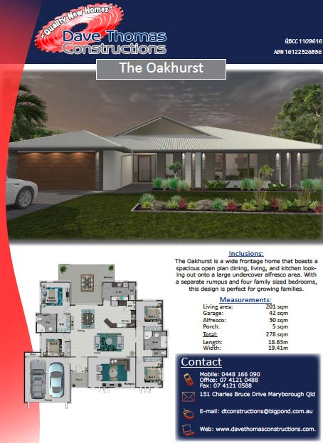 The Oakhurst 278sqm