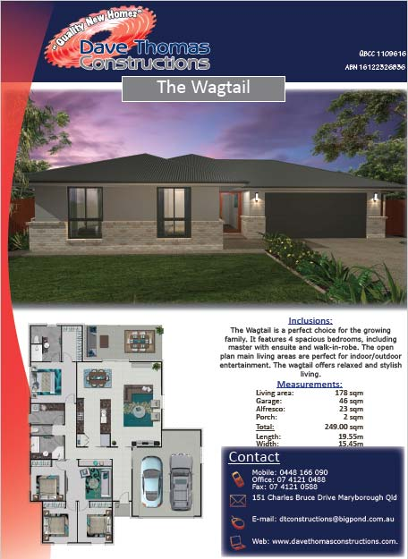 The Wagtail 249 sqm